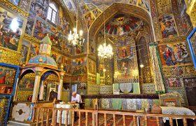 Armenian Cathedral Vank, October 6, 2014. Isfahan, Iran
